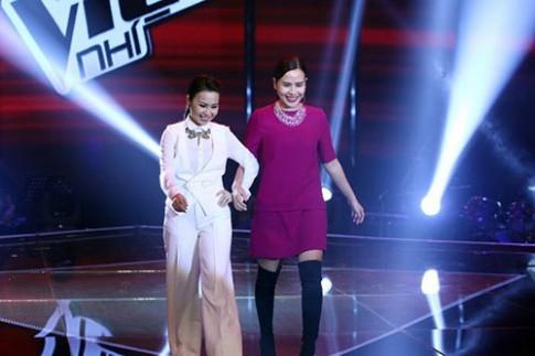 """Liveshow 5 GHVN: Nức lòng vì Hoàng Anh Huyền Trân """"kết đôi"""""""