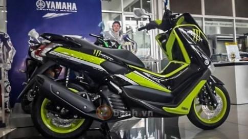 Lộ ảnh Yamaha NMax 155 2016 với phiên bản Monster và Movistar