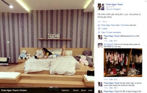 'Lục tung' phòng ngủ của vợ chồng Ngọc Thạch