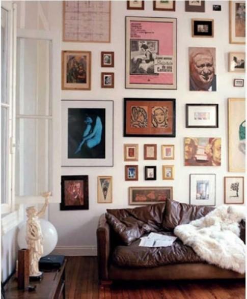 Lưu ý khi treo nhiều tranh ảnh lên tường