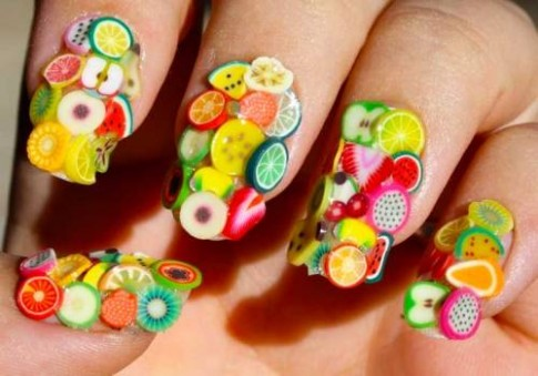 Mãn nhãn ngắm những mẫu nail 3D rực rỡ ngày hè