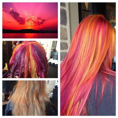 """Màu tóc nào đang khiến giới trẻ thế giới """"phát cuồng"""""""