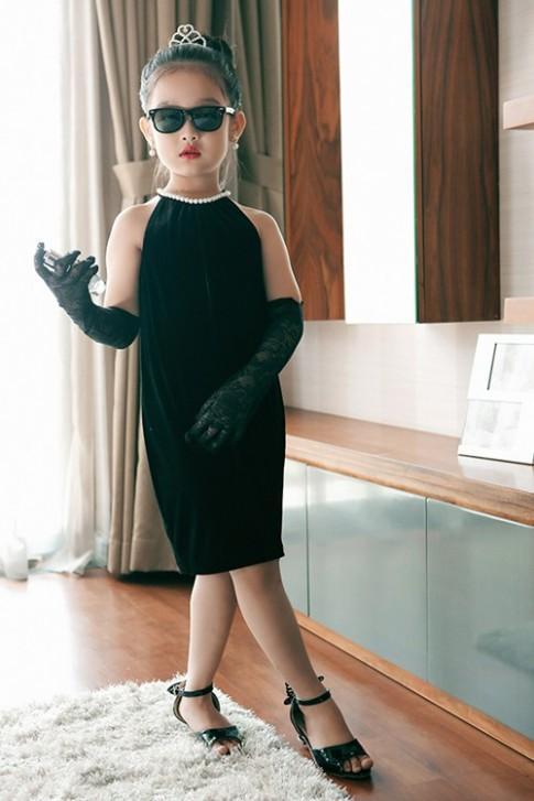 Mê mẩn ngắm bé gái Việt đẹp như biểu tượng thế giới