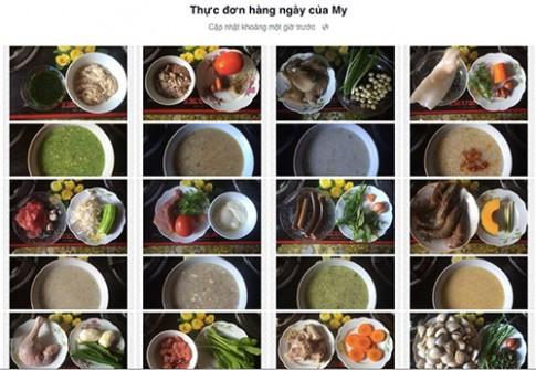 Mẹ Việt sở hữu kho công thức ăn dặm hàng chục món
