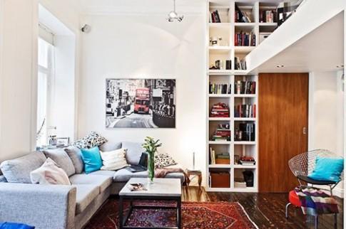 Mẹo bố trí căn hộ 38 m2 có gác xép