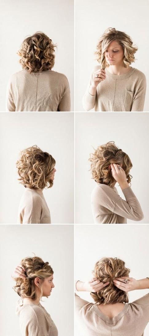 Mẹo tạo kiểu trẻ hơn tuổi cho chị em tóc ngắn ngoài 30