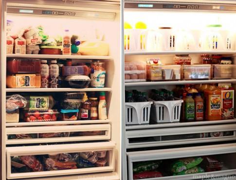 Mẹo thông minh sắp xếp tủ lạnh siêu gọn