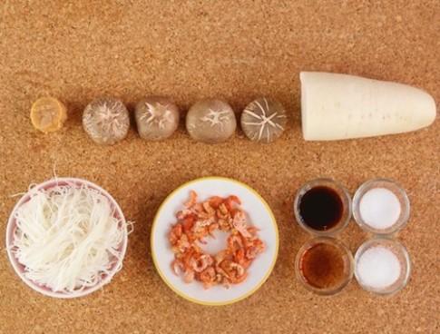 Mì nấm tôm khô dễ ăn cho bữa sáng