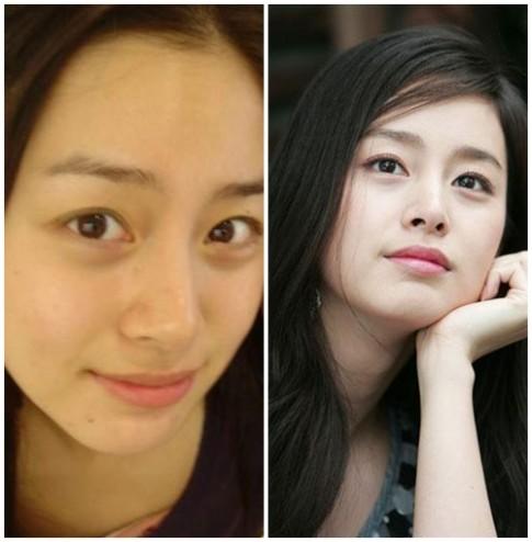 Mỹ nhân xứ Hàn ấn tượng khoe mặt mộc