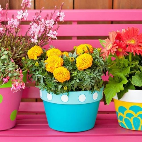 Nét duyên từ những ban công rực rỡ sắc hoa