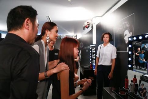 """Next Top Model 2015: Nguyễn Thị Hợp và Đào Thu """"đụng"""" cá tính."""