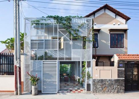 Ngắm 40m2 nhà 2 tầng giá rẻ 'nổi trội' ở Bình Dương