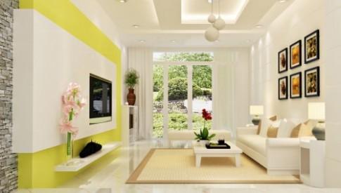 Nghệ thuật phối màu nội thất hiện đại