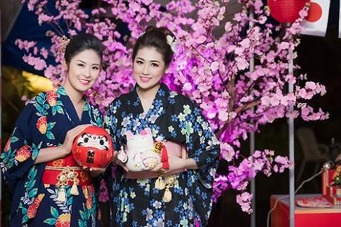 Ngọc Hân, Tú Anh hóa thiếu nữ Nhật Bản xinh đẹp