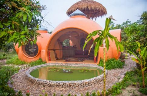 Ngôi nhà như resort mini với giá 180 triệu đồng