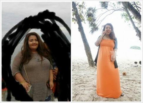 Ngưỡng mộ cô gái trẻ giảm 21kg để tỏ tình với người trong mộng