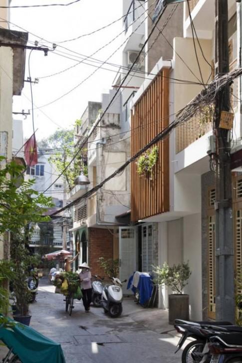 Nhà 27m2 tinh tế trong ngõ nhỏ Sài Gòn
