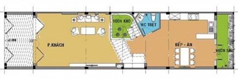 Nhà 3 tầng hiện đại cho gia đình 3 thế hệ