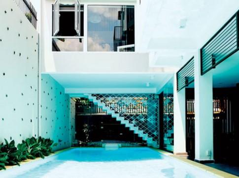 Nhà giữa Sài Gòn đẹp như resort