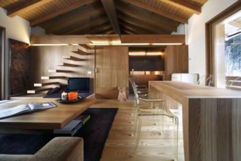 Nhà gỗ mộc mạc, tránh nóng tuyệt vời