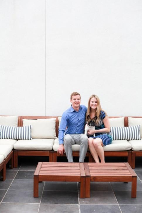 Nhà long lanh, vợ chồng son hạnh phúc