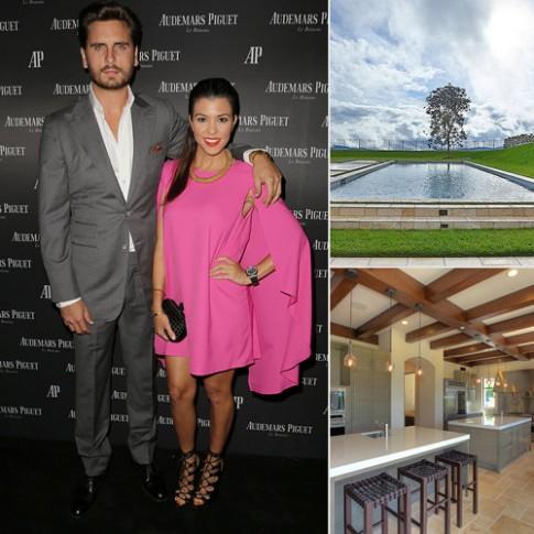 Nhà mới tậu đẹp như mơ của Kourtney Kardashian