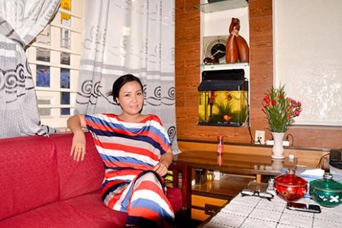 Nhà nhỏ xinh xinh của diễn viên Ngân Quỳnh