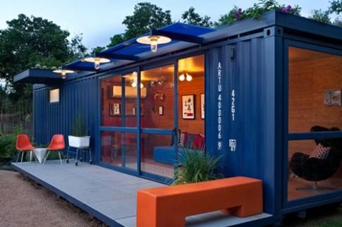 Nhà ở tuyệt đẹp làm từ container chở hàng (P1)