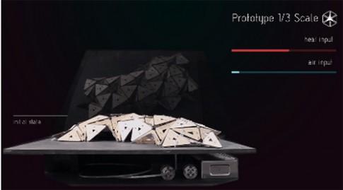 """Nhà """"Origami"""" - vật liệu xây dựng kì diệu của tương lai"""