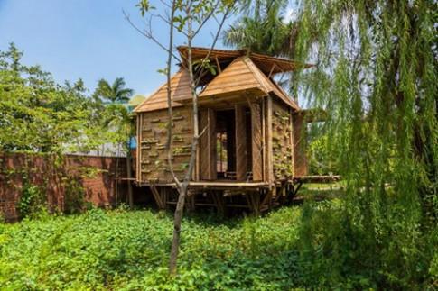 Nhà tre chịu lụt giá 50 triệu ở Hà Nội