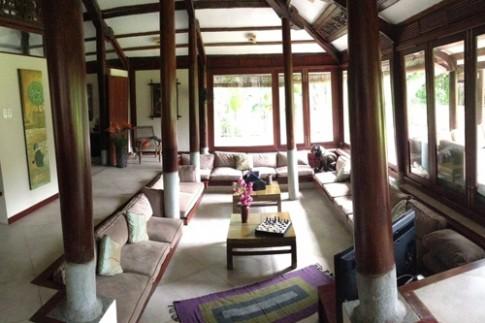 Nhà vườn 3.000 mét ở Sài Gòn lên báo nước ngoài