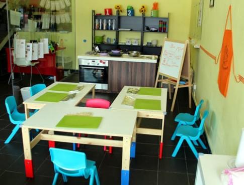 Nhật ký đưa con đi học nấu ăn tại Singapore