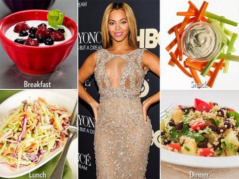 Những chế độ ăn kiêng giúp Sao giảm cân chóng mặt