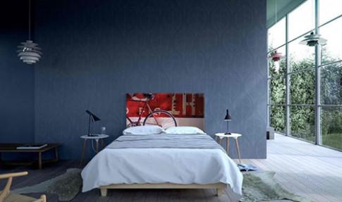 Những chiếc giường nghệ thuật cho người cá tính