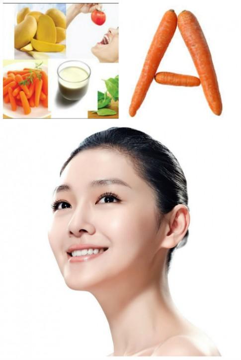 Những loại vitamin cần thiết cho sắc đẹp của bạn