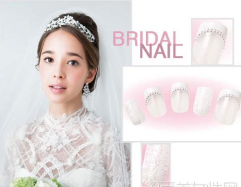 Những mẫu nail cô dâu 2016 nàng nhìn là muốn cưới