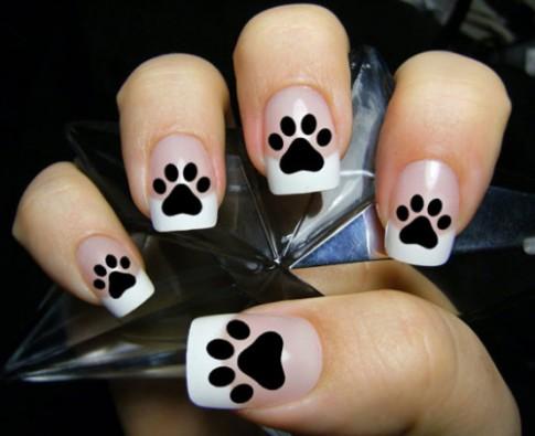 Những mẫu nail khiến nàng yêu động vật thích mê