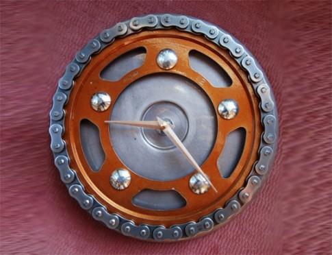 Những món đồ Handmade tái chế từ những chiếc Moto