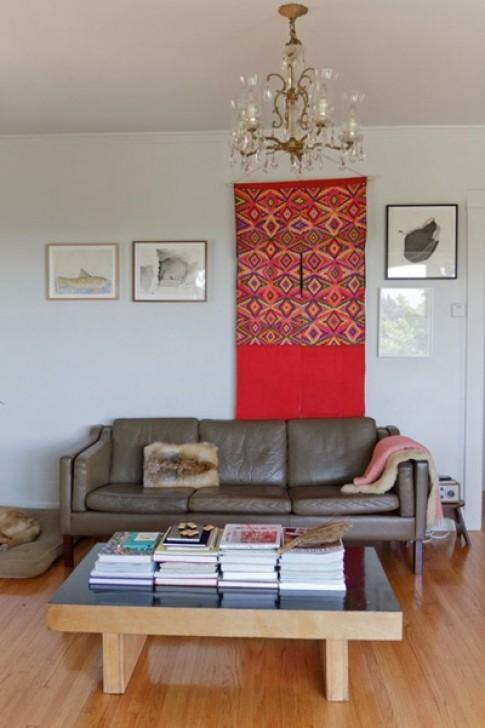 Những tấm thảm, miếng vải làm đẹp cho tường