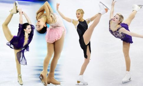 Những tư thế trượt băng nghệ thuật tuyệt đẹp