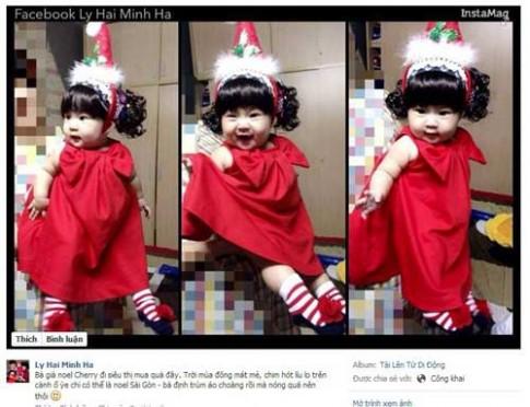 "Noel ""sang chảnh"" của con sao Việt"