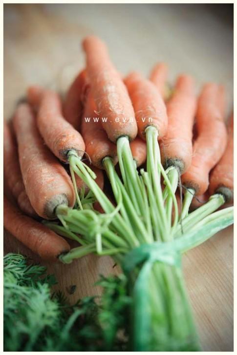 Nướng cà rốt kiểu này để ăn chơi