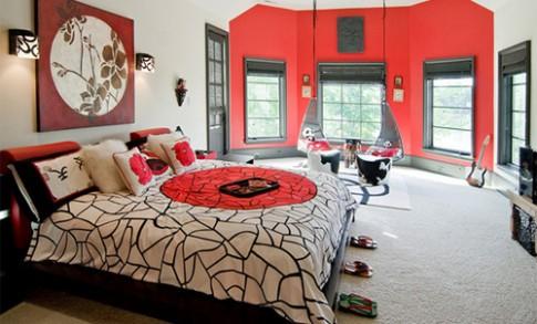 Phòng ngủ kiểu châu Á