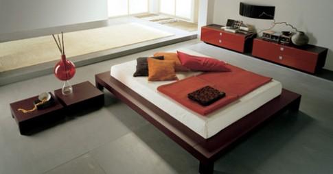 Phòng ngủ kiểu Nhật đơn giản mà sang trọng