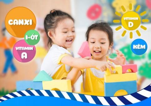 Phòng tránh thiếu hụt những vi chất thiết yếu cho trẻ nhỏ.