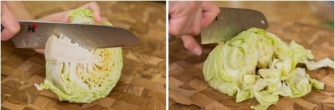 Rảnh rỗi làm bắp cải muối kiểu Nhật