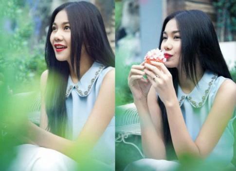 Sao Việt xinh đẹp lạ thường với tóc 'bổ luống'