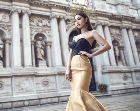 Siêu mẫu gợi cảm nhất nhì Việt Nam hóa nữ thần quyến rũ