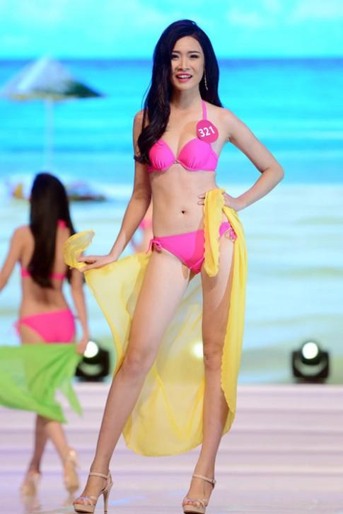 So nhan sắc 3 thí sinh cao 1m8 của Hoa hậu Hoàn vũ 2015