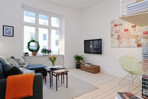 Sống tiện nghi trong nhà 40 m2